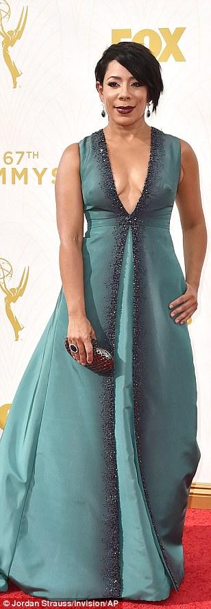 Red carpet regulars: Netflix stars Selenis Leyva,Lea DeLaria and Kate Mulgrew rocked their individual style