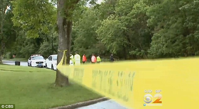 Police are thoroughly searching the woods near where Goode's car was found but they have found nothing as of yet