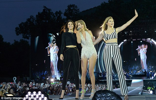The duo's new friendship was confirmed when Kendall joined Taylor on stage at British Summer Time this weekend