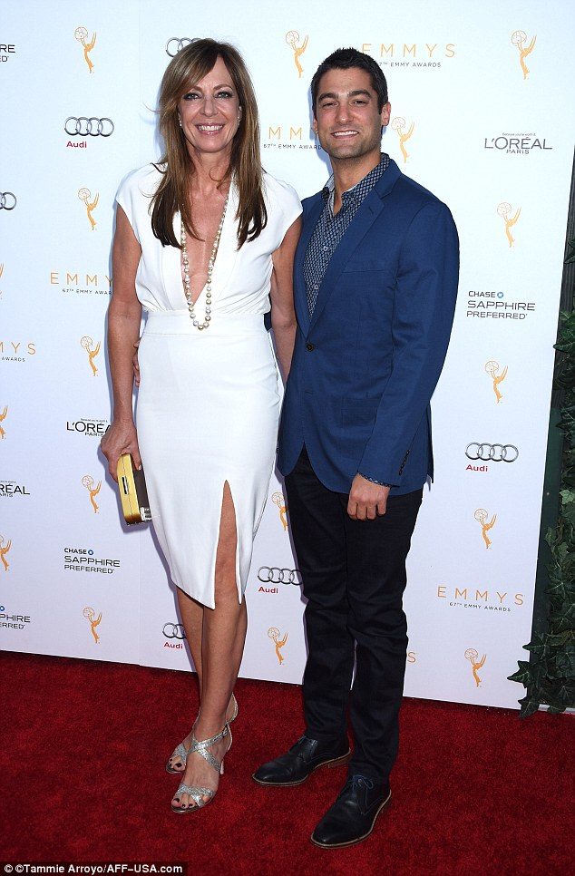 The night before: She was also seen with him in on Saturday at the Television Academy's 67th Emmy Awards Performers Nominee Reception held at Spectra at the Pacific Design Center