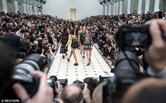 One to watch: The Burberry Prorsum show is always a highlight of the London Fashion Week calendar