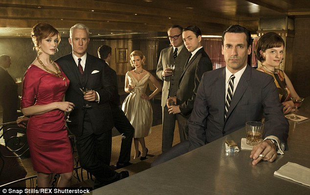 Honoured show: While none of the show's actors have ever previously won Emmys - despite multiple nominations - Mad Men had 15 awards prior to Sunday