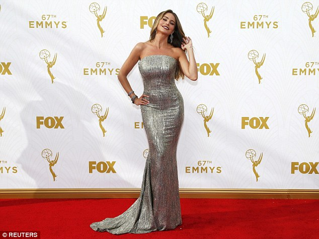 No wins: A four-time Emmy nominee, Sofia was at the show as part of the cast of Modern Family, nominated for Outstanding Comedy Series in 2015