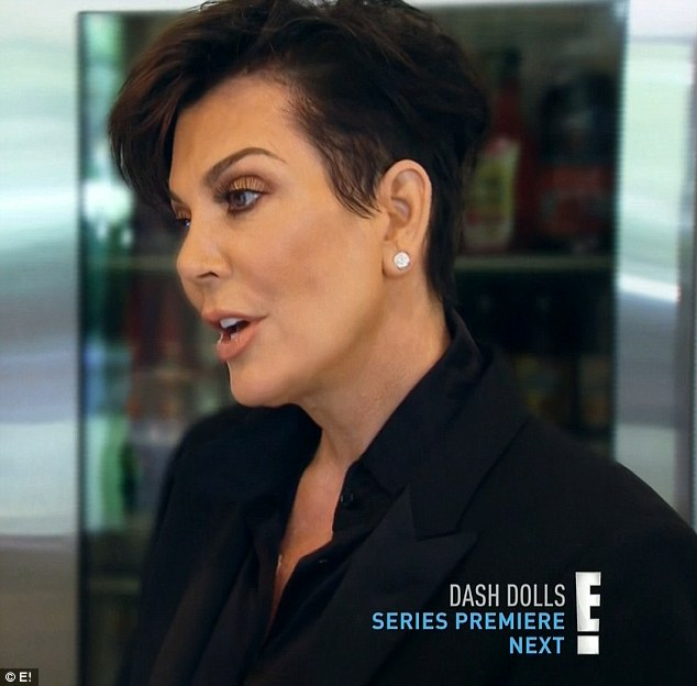 Travel plans: Kris admitted getting lost in her emotions and decided to join Kim and Khloe on their trip