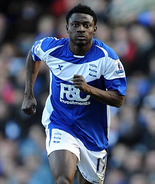 Home again: Martins could be set for a permanent return to the Premier League