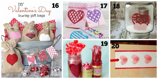 DIY Valentine Day Gifts for Kids