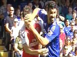 GRABS Chelsea Vs Arsenal Costa, Gabriel, Koscielny