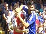 GRABS Chelsea Vs Arsenal Costa, Gabriel, Koscielny