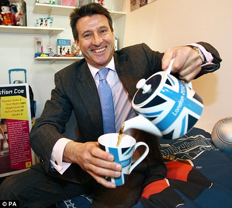 'Greatest show on earth': Lord Coe, the chairman of of London Olympic Games Organising Committee
