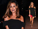 Mandatory Credit: Photo by Beretta/Sims/REX Shutterstock (5127158cw)  Jessica Wright  TOWIE Cast in Marbella, Spain - 21 Sep 2015  TOWIE cast out at Olivia's Restaurant, La Cala, for Carol Wright's birthday