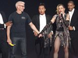 Continuing her REBEL HEART TOUR, Madonna invaded Brooklyn, where Kelly Ripa and husband Marc Consueloes watched her and Anderson Cooper was dragged onto the stage.  Pictured: Madonna, Anderson Ref: SPL1131747  190915   Picture by: Splash News  Splash News and Pictures Los Angeles: 310-821-2666 New York: 212-619-2666 London: 870-934-2666 photodesk@splashnews.com