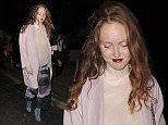 Celebrities including Selena Gomez and Cara Delevingne enjoy a night out at Lou Lou's private members club in Mayfair\n\nPictured: Lily Cole\nRef: SPL1132317  200915  \nPicture by: Squirrel / Splash News\n\nSplash News and Pictures\nLos Angeles: 310-821-2666\nNew York: 212-619-2666\nLondon: 870-934-2666\nphotodesk@splashnews.com\n
