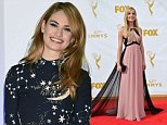 OIC - FEATUREFLASH.COM - Joanne Froggatt at the 67th Primetime Emmy Awards at the Microsoft Theatre LA Live. September 20, 2015  Los Angeles, CA Picture: Paul Smith / Featureflash Call OIC 0203 174 1069 for fees and usages or contact@oicphotos.com