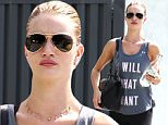 Rosie Huntington Whitley seen leaving Yoga\nFeaturing: Rosie Huntington-Whiteley\nWhere: Los Angeles, California, United States\nWhen: 21 Sep 2015\nCredit: Michael Wright/WENN.com
