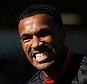 """AFC Bournemouth's Callum Wilson celebrates scoring his side's first goal of the game during the Barclays Premier League match at the Vitality Stadium, Bournemouth. PRESS ASSOCIATION Photo. Picture date: Saturday September 19, 2015. See PA story SOCCER Bournemouth. Photo credit should read: Steve Paston/PA Wire. RESTRICTIONS: EDITORIAL USE ONLY No use with unauthorised audio, video, data, fixture lists, club/league logos or """"live"""" services. Online in-match use limited to 45 images, no video emulation. No use in betting, games or single club/league/player publications."""