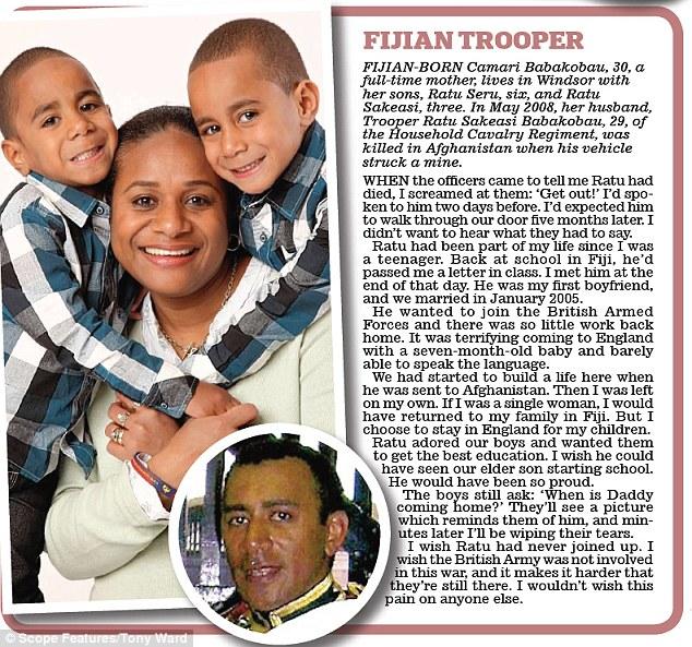 Fijian trooper