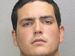 """A Florida man has been arrested after allegedly ripping out his girlfriend's intestines when she screamed the name of her ex-husband during sex. Fidel Lopez, 24, allegedly ripped out part of Maria Nemeth's intestines on Sunday night after he placed his arm up to his elbow inside of her during a violent sex act. He initially called police to his home in Ft Lauderdale, Florida, claiming she had fallen unconscious after having violent consensual sex. But when police arrived they found Nemeth on the bathroom floor with chunks of flesh and other body parts scattered around her. Lopez then allegedly confessed to the true horrors of her brutal demise.  According to an arrest report he told officers he had turned into a """"monster"""" after Maria, 24, shouted out the name of her ex-husband during sex. Lopez admitted to police that he began to smash up the apartment before returning to Nemeth who had fallen unconscious in a closet, where they had been having sex. He then told officers that he start"""