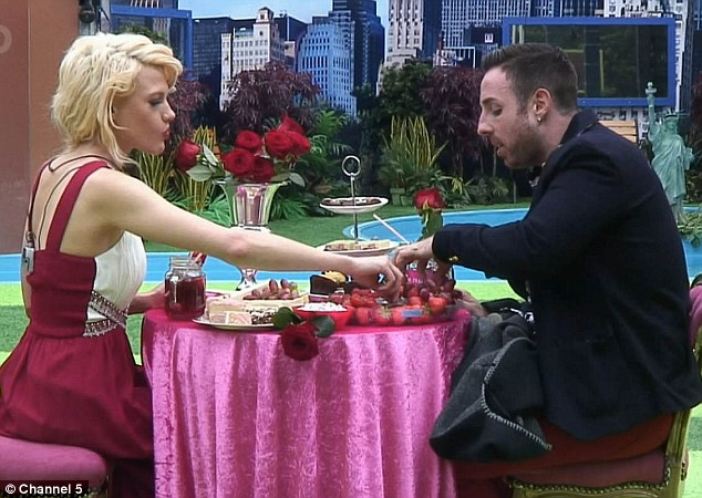 Mr & Mrs: Celebrity Big Brother put Stevi Ritchie and Chloe-Jasmine's relationship to the test on Saturday night with a game of Mr & Mrs, but they were rewarded with a romantic tea for two