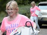 EXCLUSIVE ALL ROUNDER Anthea Turner is seen moving in to an £800,000 luxury river side apartment in London. The TV presenter, who split from twice bankrupt former husband Grant Bovey in 2013, arrived at the property in her new £45,000 Porsche Macan S. Things are obviously looking up for Anthea as she is reported to be taking over from Anne Diamond as the new face of the Health Lottery. Please byline: Vantagenews.co.uk