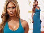 LOS ANGELES, CA - SEPTEMBER 20:  Actress Laverne Cox attends the 67th Annual Primetime Emmy Awards at Microsoft Theater on September 20, 2015 in Los Angeles, California.  (Photo by Jason Merritt/Getty Images)