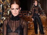 21.SEPTEMBER.2015 - LONDON - UK\nMILLIE MACKINTOSH AT THE GILES FASHION SHOW FOR THE 2015 LONDON FASHION WEEK HELD AT WHITEHALL IN LONDON\nBYLINE MUST READ: TIMMS/XPOSUREPHOTOS.COM\n***UK CLIENTS - PICTURES CONTAINING CHILDREN PLEASE PIXELATE FACE PRIOR TO PUBLICATION ***\nUK CLIENTS MUST CALL PRIOR TO TV OR ONLINE USAGE PLEASE TELEPHONE 0208 344 2007**