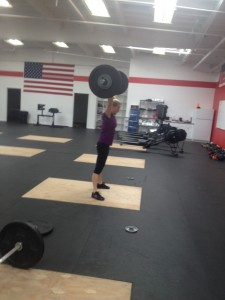 90 lbs clean and jerk