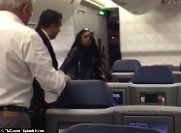 Altercation: The  man put his hand out to tell her to wait, Azealia went mad, and according to an eyewitness, spat and punched him in his face and clawed at his shirt