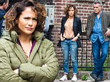 Jennifer Lopez, Ray Liotta and Drea de Matteo are filming 'Shades Of Blue' in Brooklyn, New York.\n\nPictured: Jennifer Lopez, Ray Liotta, Drea de Matteo\nRef: SPL1134192  220915  \nPicture by: Allan Bregg\n\nSplash News and Pictures\nLos Angeles: 310-821-2666\nNew York: 212-619-2666\nLondon: 870-934-2666\nphotodesk@splashnews.com\n