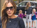 eURN: AD*182023477  Headline: Sarah Jessica Parker out and about, New York, America - 21 Sep 2015 Caption: Mandatory Credit: Photo by Startraks Photo/REX Shutterstock (5136028m)  Sarah Jessica Parker, Marion Broderick Broderick, Tabitha Broderick  Sarah Jessica Parker out and about, New York, America - 21 Sep 2015  Sarah Jessica Parker takes her Daughters to School  Photographer: Startraks Photo/REX Shutterstock Loaded on 22/09/2015 at 00:37 Copyright: REX FEATURES Provider: Startraks Photo/REX Shutterstock  Properties: RGB JPEG Image (19482K 494K 39.5:1) 2176w x 3056h at 300 x 300 dpi  Routing: DM News : GeneralFeed (Miscellaneous) DM Showbiz : SHOWBIZ (Miscellaneous) DM Online : Online Previews (Miscellaneous), CMS Out (Miscellaneous)  Parking: