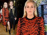 Mandatory Credit: Photo by Richard Young/REX Shutterstock (5133433bb)\n Ellie Goulding and Dougie Poynter\n The London Erdem Green Carpet Challenge Collection, Spring Summer 2016, London Fashion Week, Britain - 21 Sep 2015 \n \n