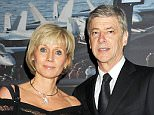 GENEVA, SWITZERLAND - JANUARY 17:  Arsenal Manager Arsene Wenger (R) and wife Annie Wenger attend the IWC Top Gun Gala Event at 22nd SIHH High Jewellery Fair on at the Palexpo Exhibition Hall January 17, 2012 in Geneva, Switzerland.  (Photo by Dave M. Benett/Getty Images for IWC)