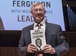 Exclusive Coverage - Former Manchester United Manager Sir Alex Ferguson launches his new book 'Leading' at the Royal Festival Hall on September 21, 2015 in London, United Kingdom. The book is published by Hodder, and co-written by Sir Michael Moritz.