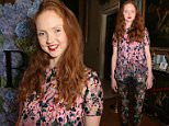 LONDON, ENGLAND - SEPTEMBER 21:  Lily Cole attends the London 2015 Green Carpet Collection By Erdem in partnership with Mercedes-Benz at the Wallace Collection on September 21, 2015 in London, England.  (Photo by David M. Benett/Dave Benett / Getty Images for Eco-Age/ERDEM)