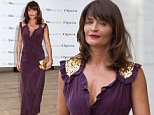 "Helena Christensen attends the Metropolitan Opera season opening night of Verdi's ""Otello"" at Lincoln Center on Monday, Sept. 21, 2015, in New York. (Photo by Greg Allen/Invision/AP)"