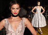 Irina Shayk\nGiles SS16 fashion show, London Fashion Week, London. 21 Sep 2015\nPic: DFS/ David Fisher/ Rex Shutterstock