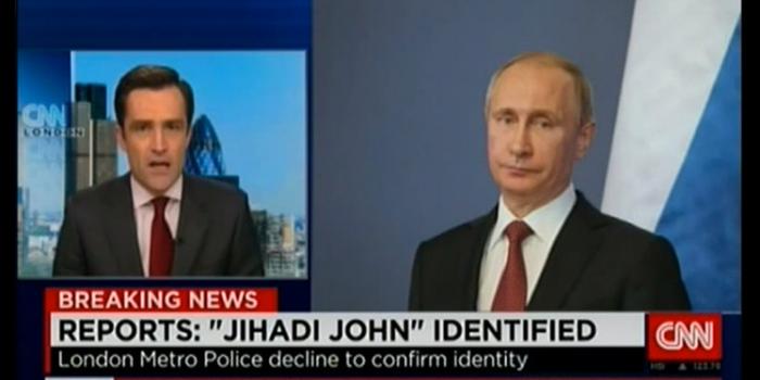 CNN confirm identity of Jihadi John.....Its President Putin! (Video)