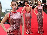 Emily Blunt attending the Sicario Premiere at the Empire Leicester Square, London. PRESS ASSOCIATION Photo. Picture date: Monday September 21, 2015. Photo credit should read: Ian West/PA Wire