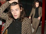 Harry Styles is seen here leaving Loulou's Private Members Club in Mayfair after attending The Love Magazine Party.  Pictured: Harry Styles Ref: SPL1133644  210915   Picture by: WeirPhotos / Splash News  Splash News and Pictures Los Angeles: 310-821-2666 New York: 212-619-2666 London: 870-934-2666 photodesk@splashnews.com