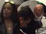 """EXCLUSIVE: **NO USA TV AND NO USA WEB**Azalea Banks is seen tussling with flight attendant attempting to retrieve her bag and exit the plane after a flight for New York to LAX. The video shows as Banks argues who flight attendant calling him (attendant) a """"f***ing F**ot. Co-pilot eventually showed up and told Banks that police were called, which led her to rush off the plane. Azalea allegedly had an argument with french couple who blocked her from retrieving her bag from overhead bin. Police eventually caught up with Azalea at the baggage claim, no charges were pressed as french passengers were on vacation and didn't care for the hassle. \n\nPictured: Azalea Banks\nRef: SPL1134185  220915   EXCLUSIVE\nPicture by: TMZ.com / Splash News\n\nSplash News and Pictures\nLos Angeles: 310-821-2666\nNew York: 212-619-2666\nLondon: 870-934-2666\nphotodesk@splashnews.com\n"""