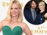 january jones will forte