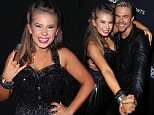 "LOS ANGELES, CA - SEPTEMBER 21:  Actress/ wildlife conservationist Bindi Irwin (L) and dancer/TV personality Derek Hough attend ""Dancing with the Stars"" Season 21 at CBS Televison City on September 21, 2015 in Los Angeles, California.  (Photo by David Livingston/Getty Images)"