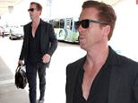"""""""Homeland"""" actor, Damian Lewis casually catches a flight out of LAX in Los Angeles the night after the 2015 Emmy's.\n\nPictured: Damian Lewis\nRef: SPL1133851  210915  \nPicture by: Splash News\n\nSplash News and Pictures\nLos Angeles: 310-821-2666\nNew York: 212-619-2666\nLondon: 870-934-2666\nphotodesk@splashnews.com\n"""