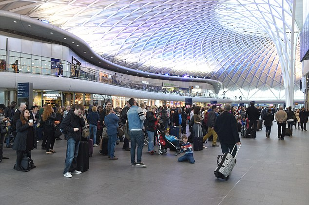 An indicator of progress can be found in the improvement to stations and now several of them - like the elegantly restored concourse at King's Cross - are vast palaces of culinary and retail pleasure