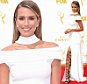 LOS ANGELES, CA - SEPTEMBER 20:  TV personality Renee Bargh attends the 67th Annual Primetime Emmy Awards at Microsoft Theater on September 20, 2015 in Los Angeles, California.  (Photo by Jason Merritt/Getty Images)