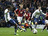 "Football - Preston North End v AFC Bournemouth - Capital One Cup Third Round - Deepdale - 22/9/15  Daniel Johnson scores the second goal for Preston from the penalty spot  Mandatory Credit: Action Images / Carl Recine  Livepic  EDITORIAL USE ONLY. No use with unauthorized audio, video, data, fixture lists, club/league logos or ""live"" services. Online in-match use limited to 45 images, no video emulation. No use in betting, games or single club/league/player publications.  Please contact your account representative for further details."