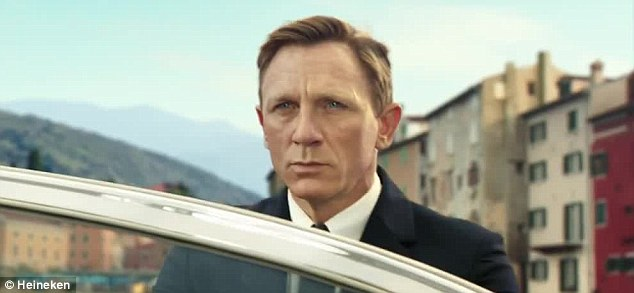 Another chase, another day: Daniel Craig's James Bond is set to take on a new glamorous partner in the latest high-octane advert for the up-coming Spectre film