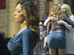 Picture Shows: Farrah Abraham  September 22, 2015\n \n **VIDEO Also Available**\n ** Min Web / Online Fee £400 For Set **\n \n American Reality and Porn Star Jenna Jameson meets up with BFF Farrah Abraham at the Celebrity Big Brother studios after being evicted from the famous Borehamwood House and heads to her hotel with a mystery man after chair throwing incident that left actress Vicki Michelle requiring medical assistance. \n \n Jenna and Farrah took part in the Big Brother side show 'Bit On The Side' and got involved in a glass and chair throwing incident which left one guest needing medical attention and the pair being escorted from the side exit for their own safety. \n \n Fighting is reported to have broke out between Aisleyne Horgan-Wallace and Farrah Abraham. With the feuding pair are said to have thrown their champagne glasses while Janice Dickinson has been accused of throwing a chair.\n \n Dickinson's agent later claimed than she had thrown herself in the path