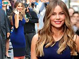 September 23, 2015: Sofia Vergara at ABC Studios in New York City for an appearance on 'Good Morning America.'\nMandatory Credit: INFphoto.com Ref: infusny-288