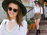 West Hollywood, CA - Maisie Williams smiles for the cameras after lunch with friends at The Ivy Restaurant in West Hollywood. The 'Game of Thrones' star looked cute as can be in a large brimmed hat with patterned shorts, black heeled booties and a white top as she waited for her car at the valet with her pretty smile.\n \n AKM-GSI  September 22, 2015\nTo License These Photos, Please Contact :\nSteve Ginsburg\n(310) 505-8447\n(323) 423-9397\nsteve@akmgsi.com\nsales@akmgsi.com\nor\nMaria Buda\n(917) 242-1505\nmbuda@akmgsi.com\nginsburgspalyinc@gmail.com