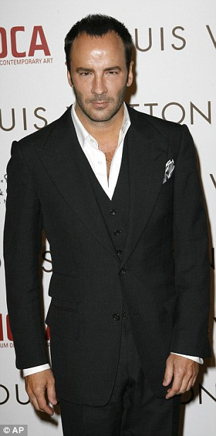 Tom Ford says there is an inherent materialism in the fashion industry with which he is not always at ease